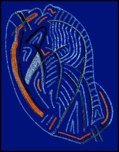 Blue Heart #1