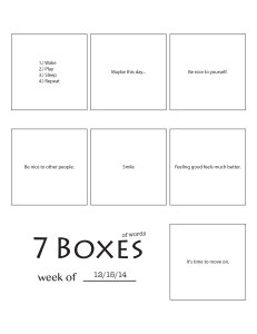7 Boxes (of Words) vol. 48